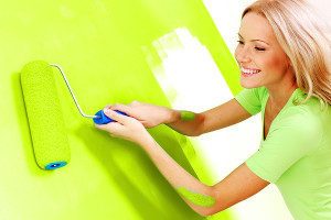 DIY painting to change mood and beat blues
